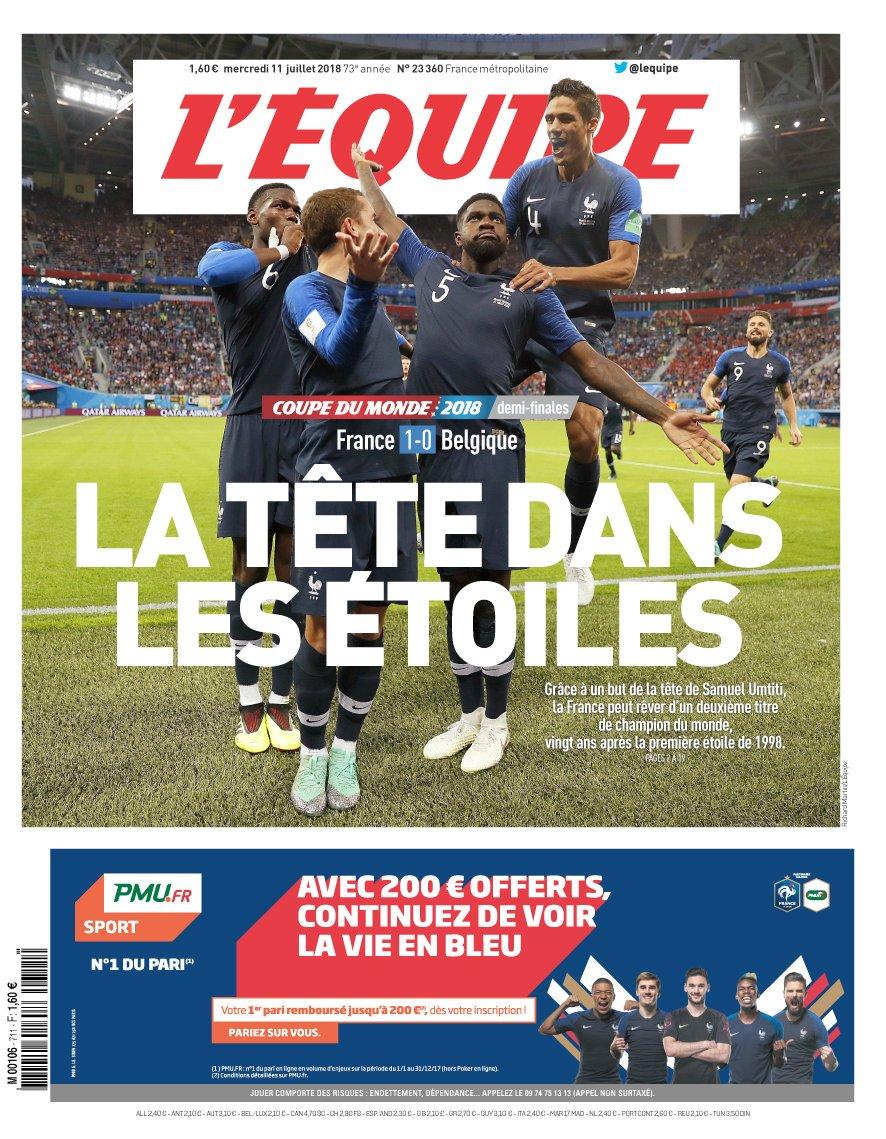 Ernest Mag Equipe France