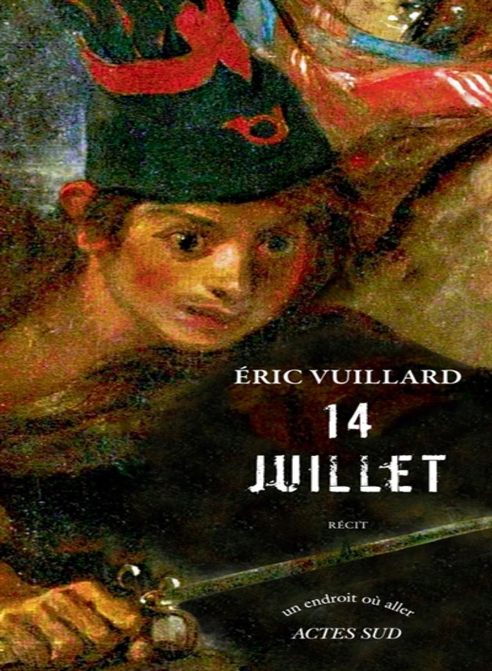 Eric Vuillard 14juillet
