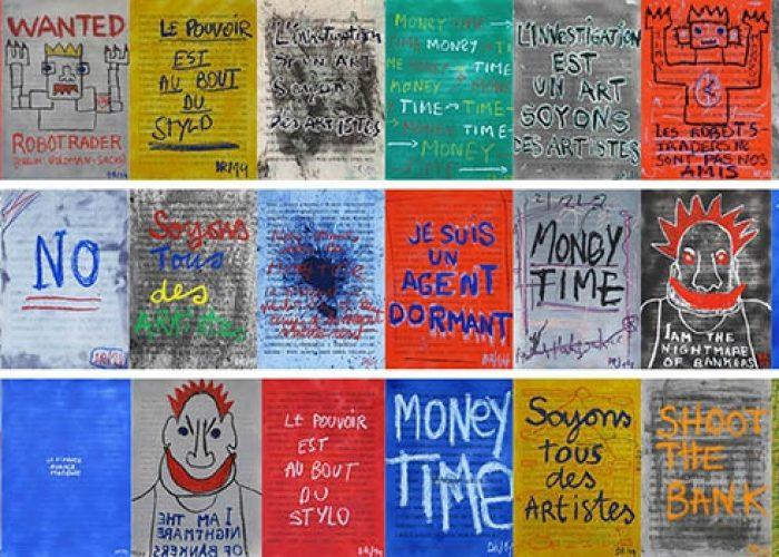 7 Denis Robert Exposition L Money Time R Prolongation Jusqurau 7 Septembre 2014 Galeriew