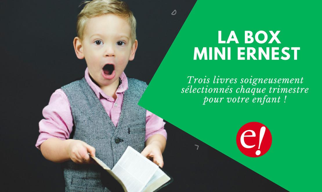 Box livres Mini Ernest