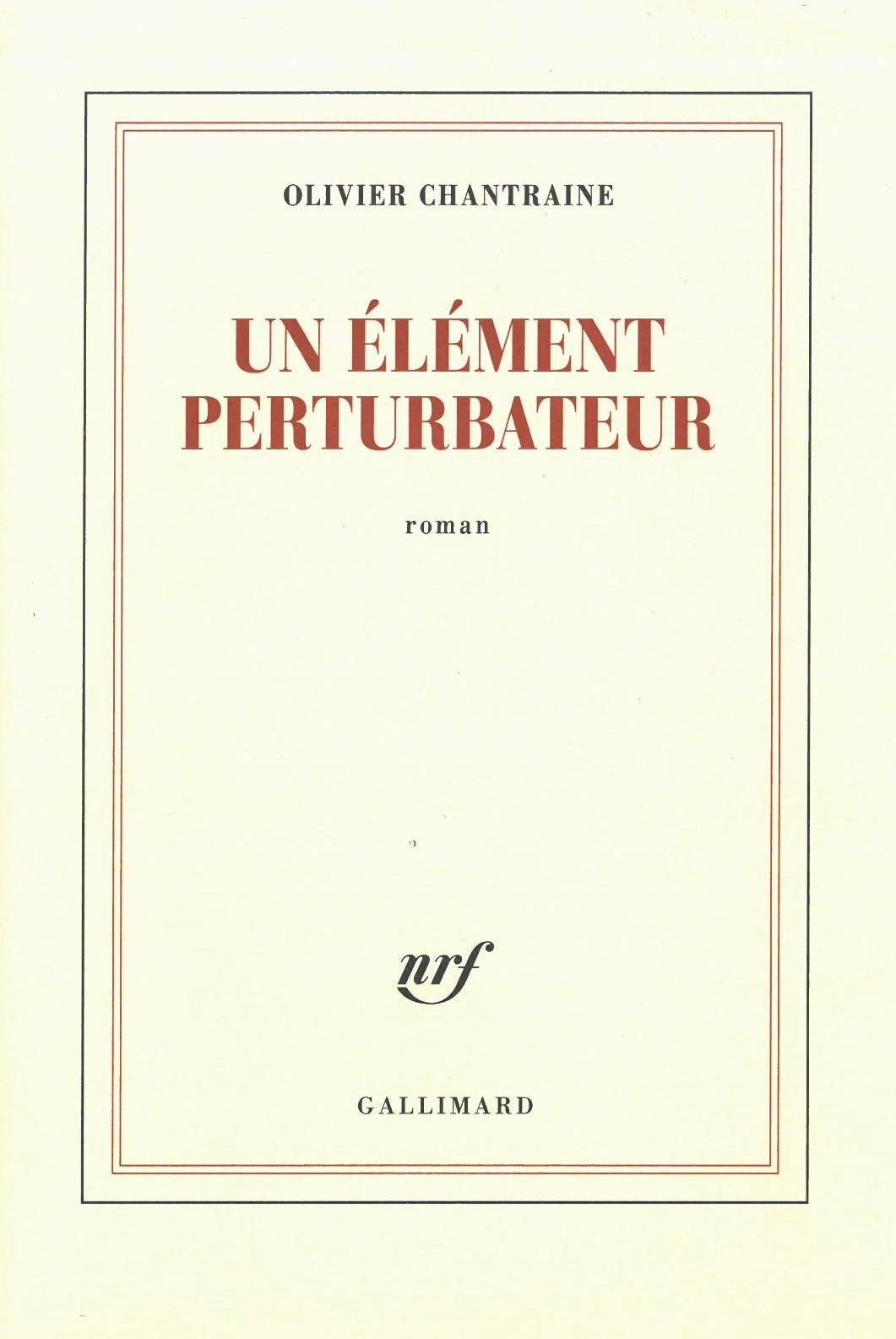 Element Perturbateur Chantraine