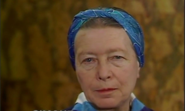 Ernest Mag Capture Simone De Beauvoir