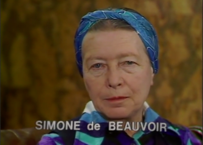 Ernest Mag Capture Simone De Beauvoir