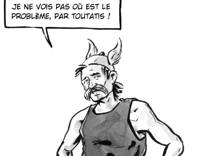 Ernest Mag Par Toutatis BD