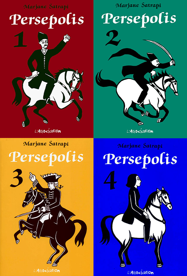 Persepolis Couv