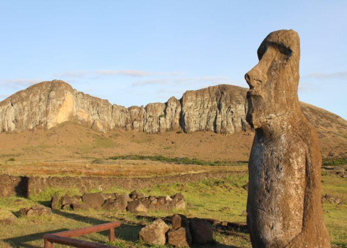 Ecologie : «nous sommes l'île de Pâques»