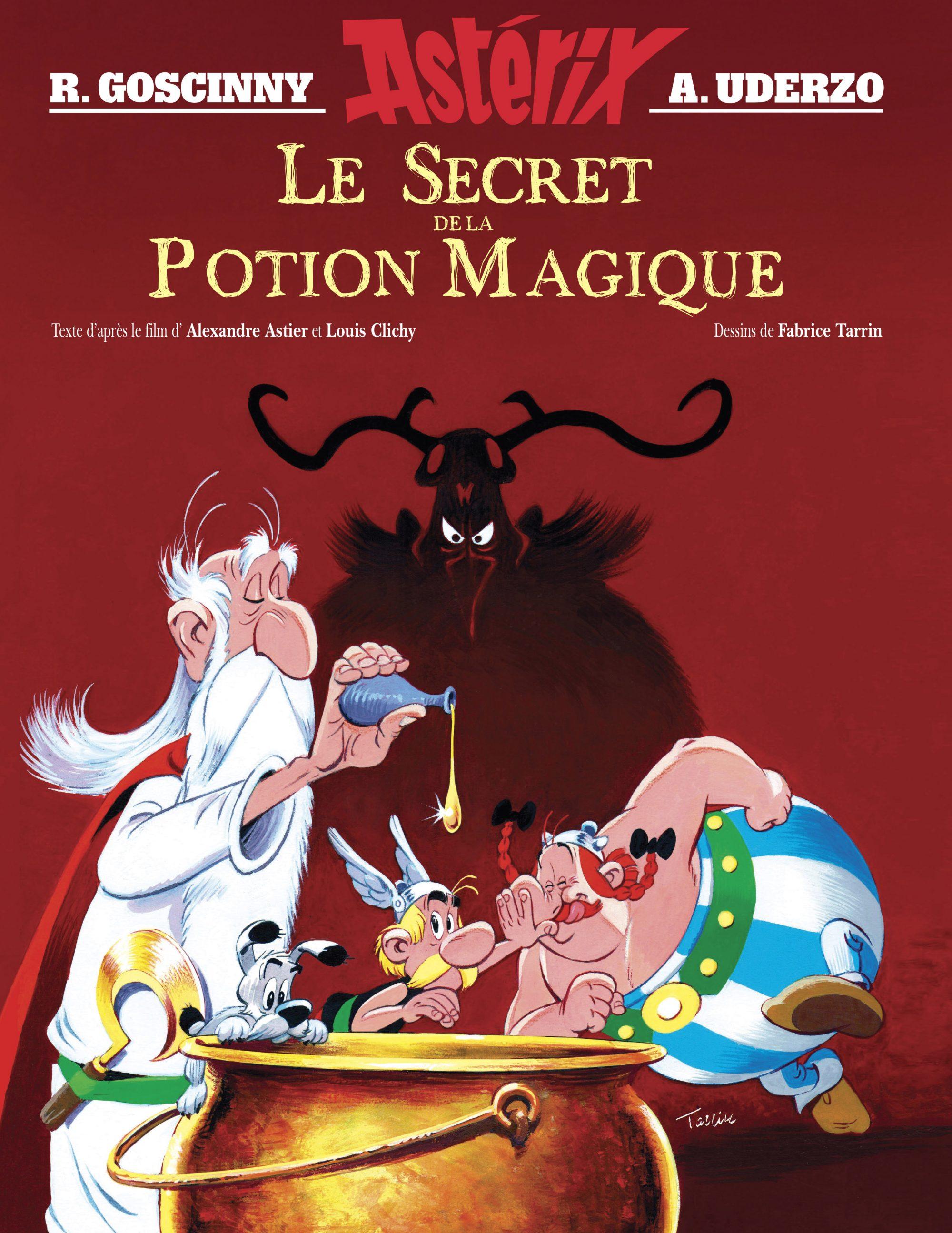 SECRET DE LA POTION MAGIQUE Couverture