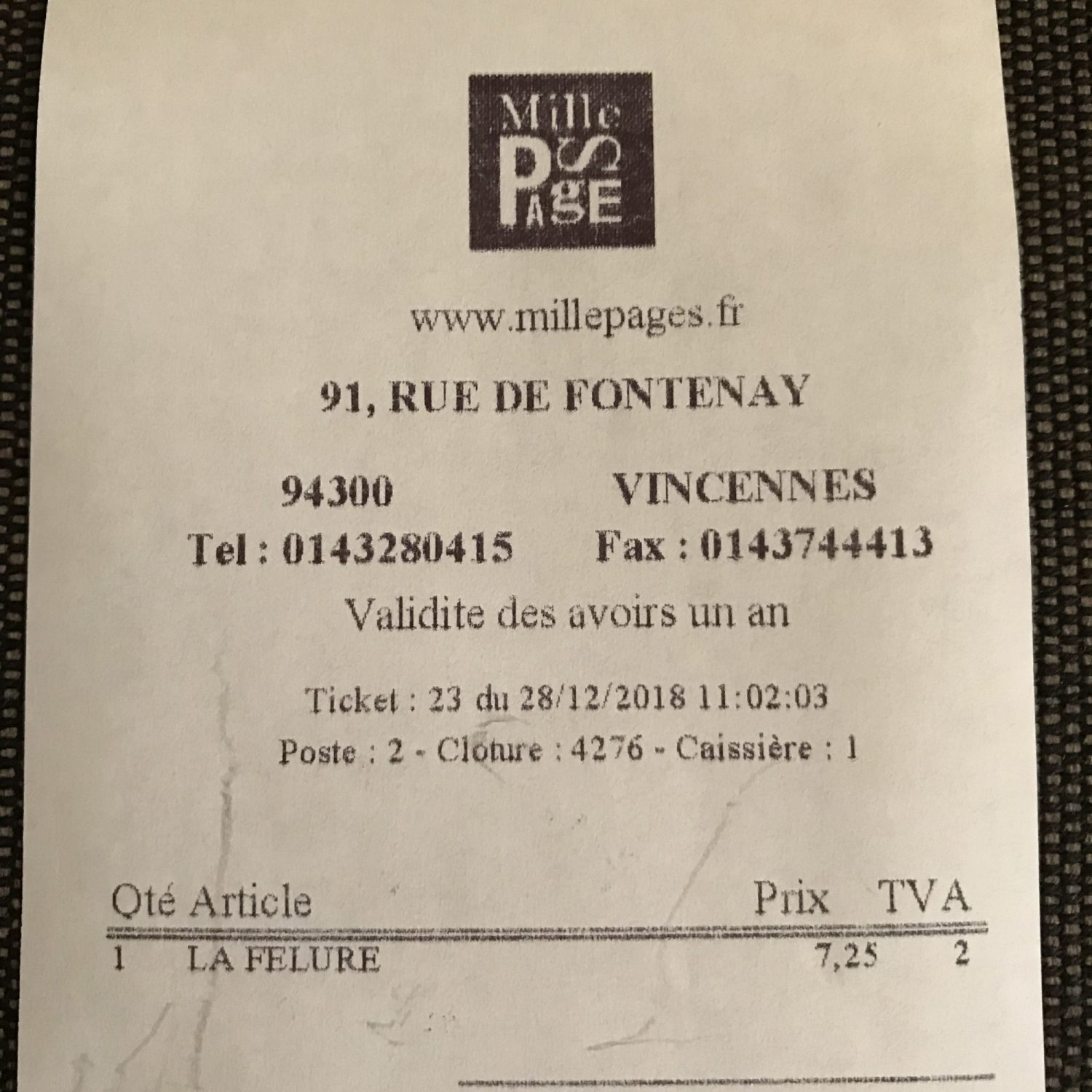 Ernest Mag Ticketfelure