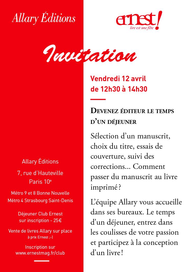 Ernest Invitation Ok