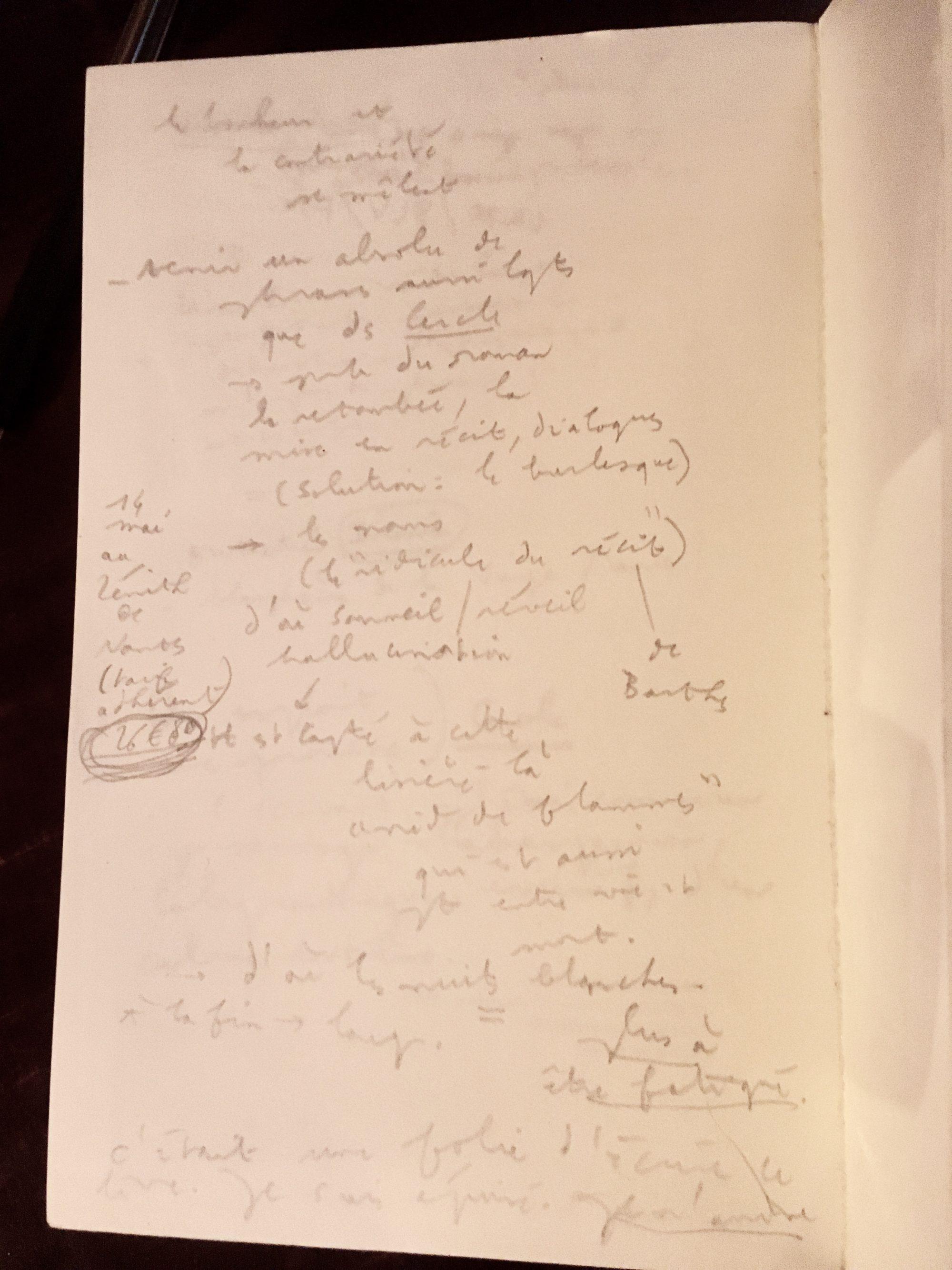 Ernest Haenel Notes
