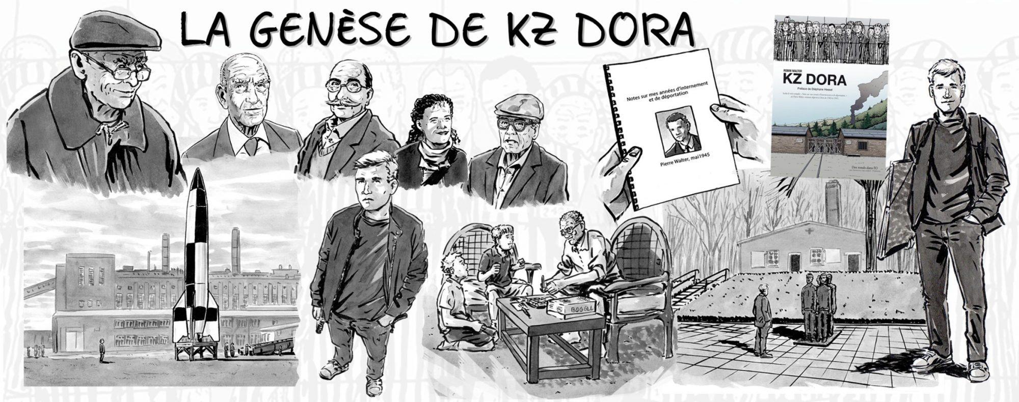 BD Robin Walter - Genèse KZ Dora