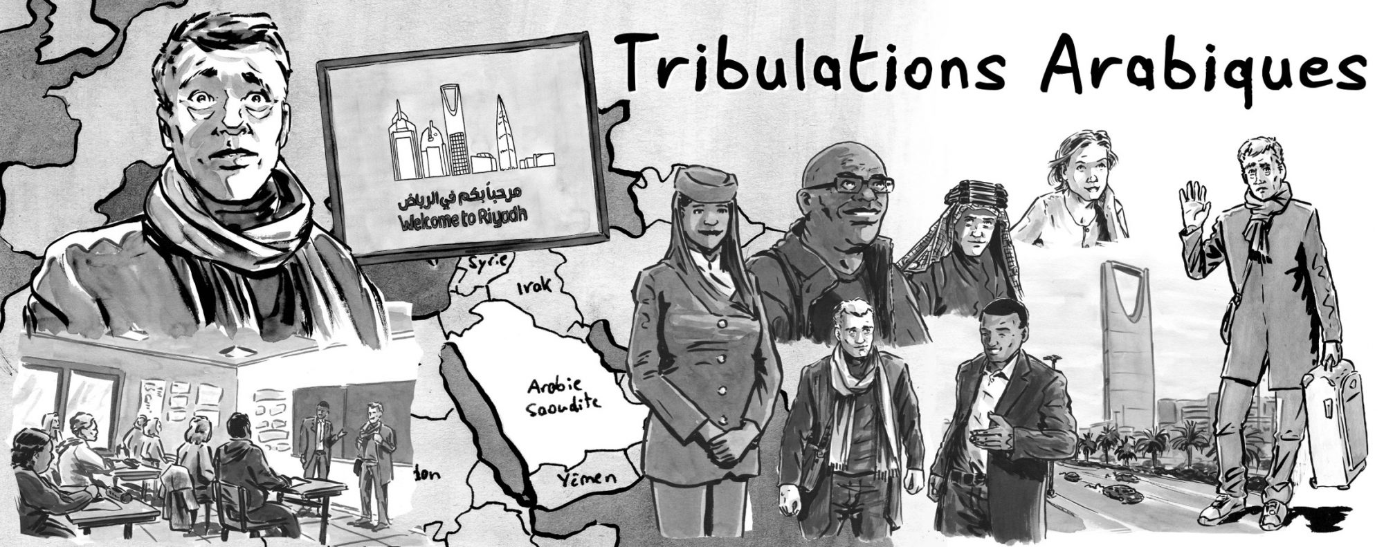 BD Robin Walter - Tribulations arabiques