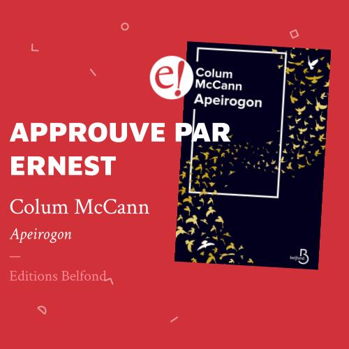 Ernest Mag McCann Apeirogon